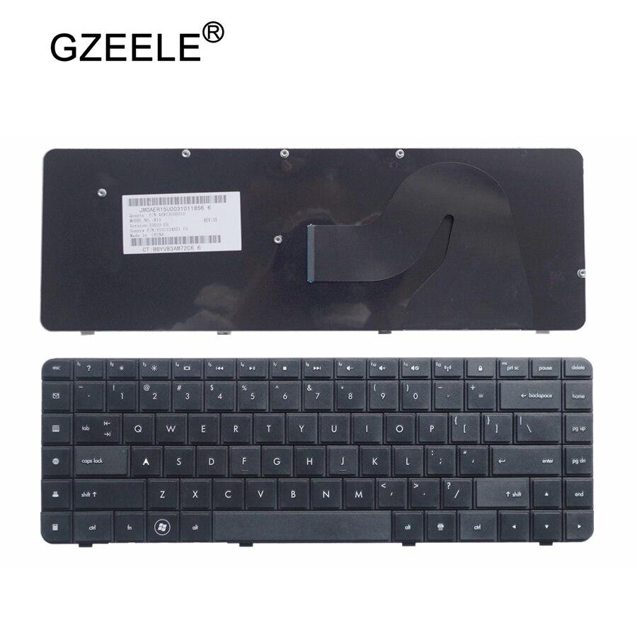 GZEELE Клавиатура для ноутбука hp CQ62 G62 G62 a25eo CQ56 G56 для Compaq 56 62 G56 G62 CQ62 CQ56 CQ56 100 английский (США) черный-in Замена клавиатуры from Компьютер и офис on