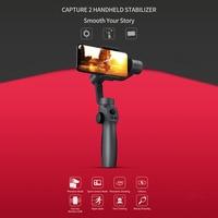 FUNSNAP Capture2 Handheld Gimbal for GOPRO Action Camera 4/5/6/7 Smartphone New Handheld Gimbal Live Appliance Stabilizer