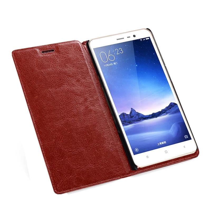 Para Xiaomi Redmi note 4 Flip Case Funda de cuero PU Funda Xiomi - Accesorios y repuestos para celulares - foto 3