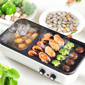 Barbecue Electric grill cooktop squeegee electric skewer convection oven spit 220V pan hotplate machine grill oven barbecue bbq