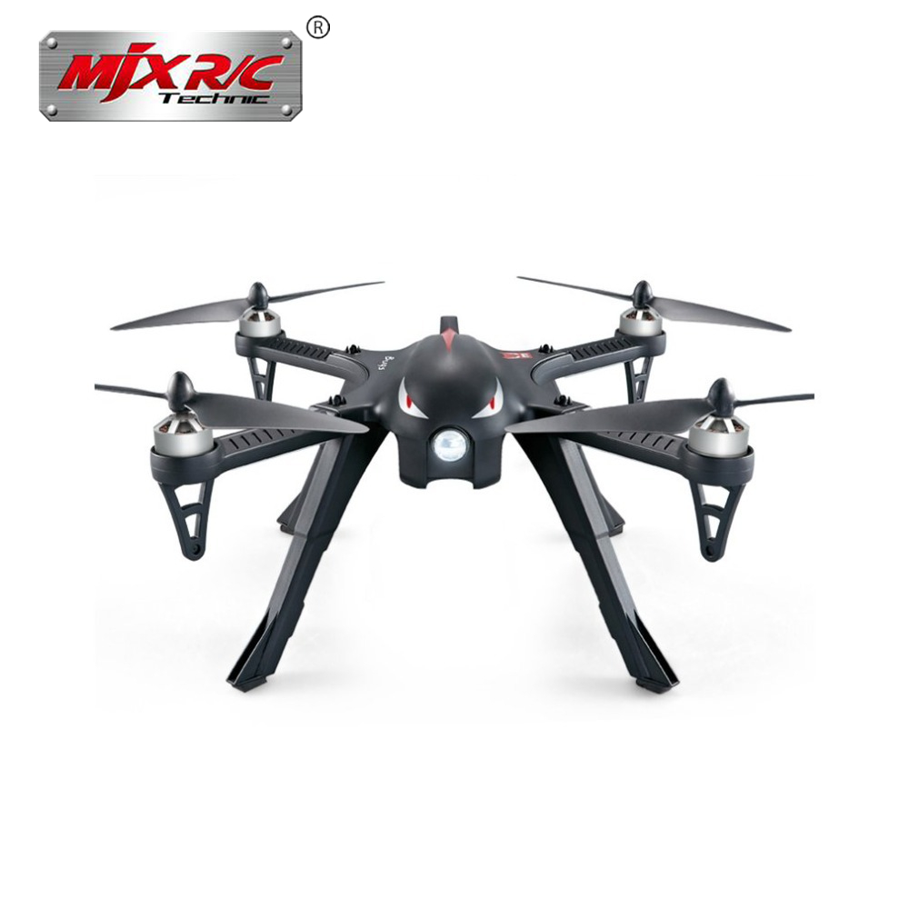MJX Bugs 3 B3 RC Quadcopter Brushless Motor 2.4G 6-Axis Gyro Drone With H9R 4K Camera Professional Dron Helicopter mjx bugs 3 b3 rc quadcopter brushless motor 2 4g 6 axis gyro drone with h9r 4k camera professional drone helicopter black