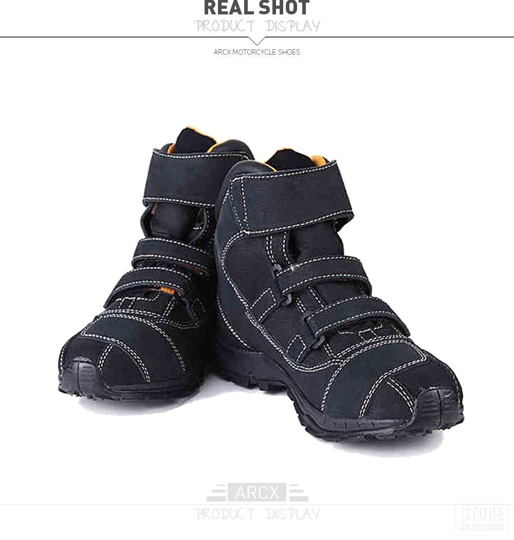 Schutzausrüstung Arcx Motorrad Reiten Atmungsaktive Stiefel Moto Schutz Motorrad Biker Touring Bots Schuhe Für Männer Und Frauen Sommer Motorboats Motorrad-zubehör & Teile