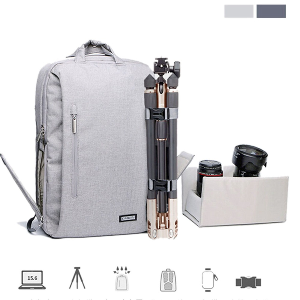 CADeN Camera Bag Dslr Camera Backpack digital Camera Videos Bag Waterproof Laptop 14 School casual Photo Bag for Canon Nikon waterproof digital dslr camera bag multifunctional photo camera backpack small slr video bag for the camera nikon canon