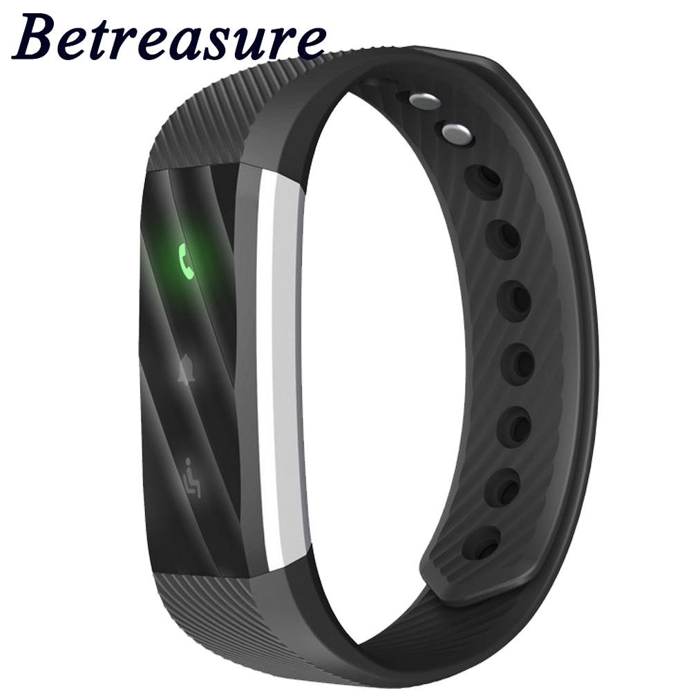 Betreasure BW14 Smart Wristband Blood Pressure/Blood Oxygen/Heart Rate Fitness Bracelet Activity Tracker Pedometer Smart Band
