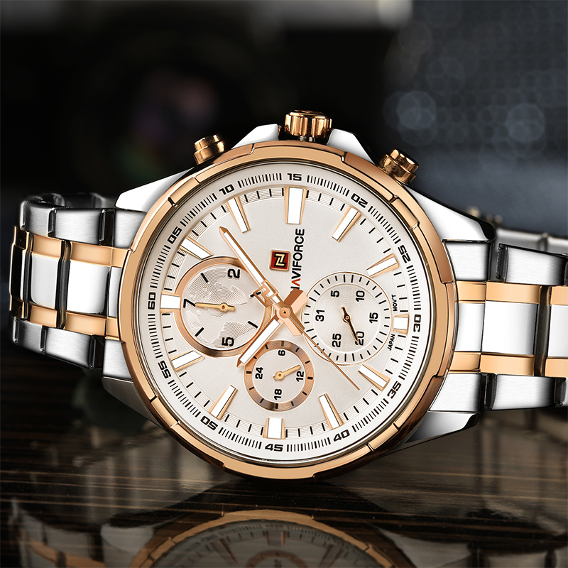 NAVIFORCE Moda Relojes Casuales Hot Brand Hombres Deportes Reloj - Relojes para hombres - foto 3