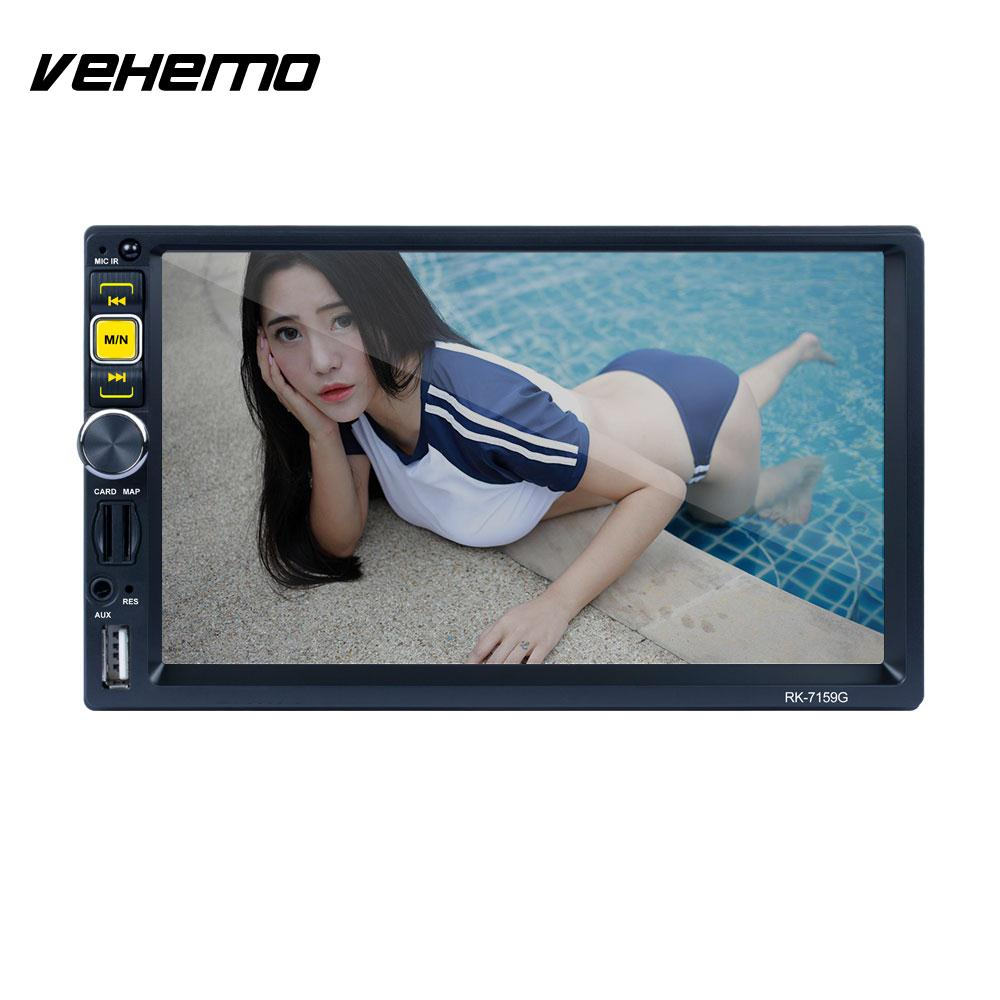 Vehemo Mirror Link Video Player Radio Car MP5 Player TF/USB/AUX Car Stereo Multimedia Player Automotive 7 Charging Function trw automotive jts215 premium stabilizer link