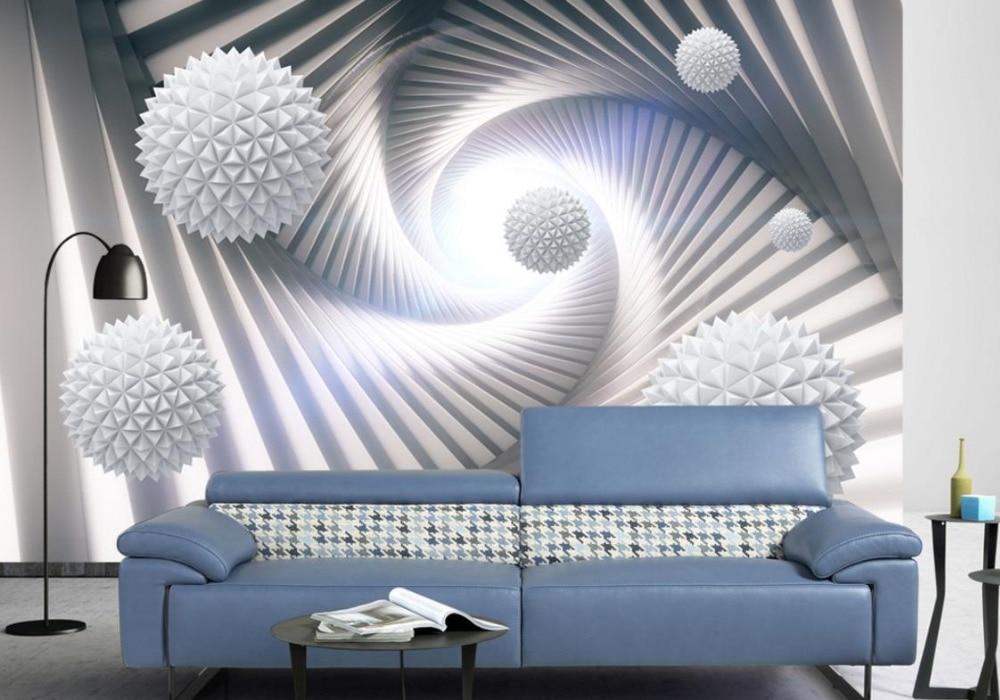Ball Creative 3d Wallpaper Walls Abstract three