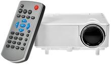 Venta caliente Sistema de Imagen LED Proyector Multimedia HD 1080 P H80 Mini LCD Digital Video Game Proyectores Multimedia Jugador