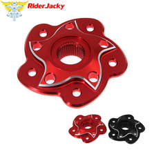 Riderjacky CNC Rear Sprocket Hub Carrier Cover For Ducati 748 848 996 916 998 Monster S2R S4R S4RS 796 1100 Streetfight 848 стоимость