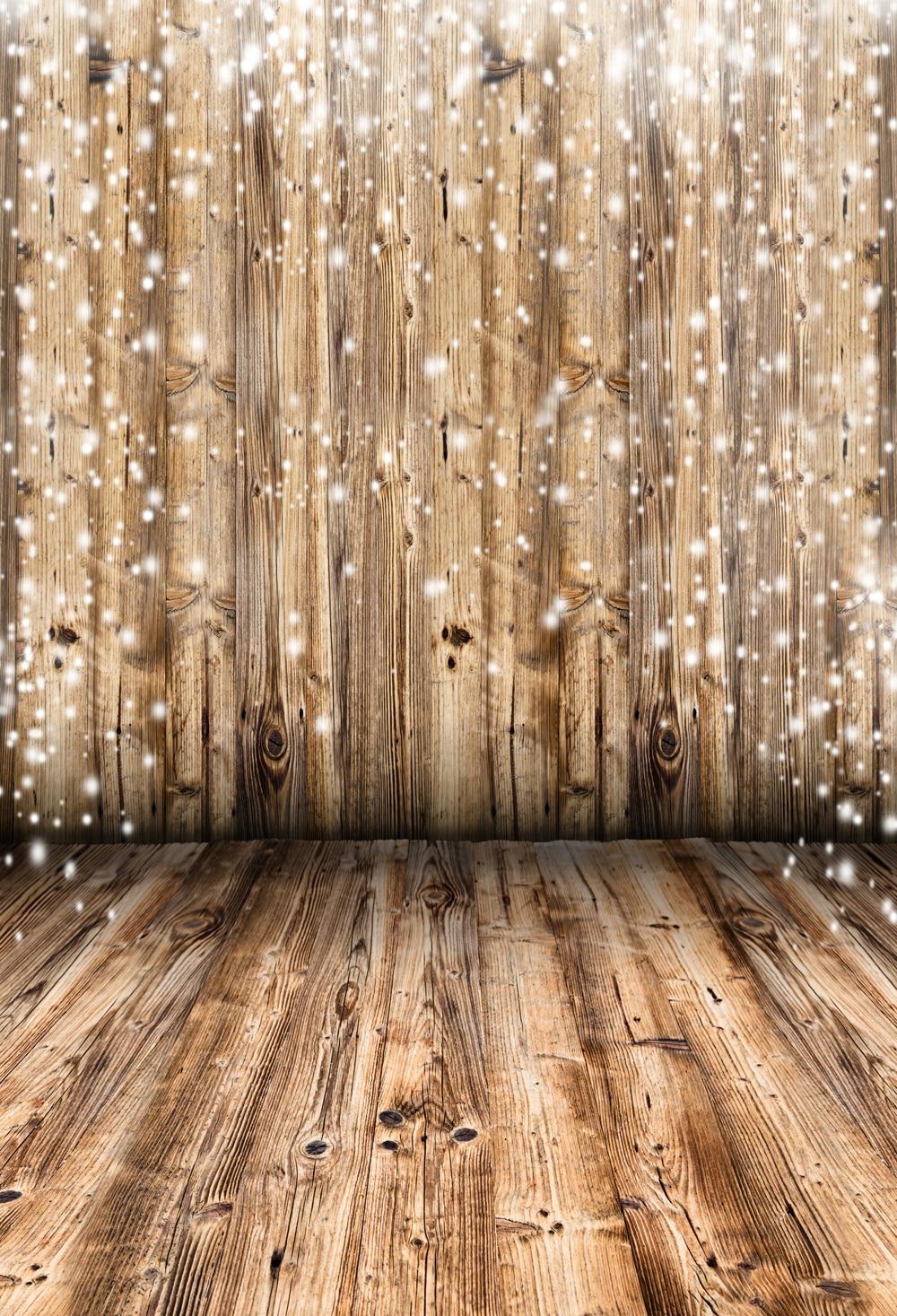 HUAYI 10x20ft wood floor backdrop wood vinyl wedding photography backdrops photo props background wood XT 6393