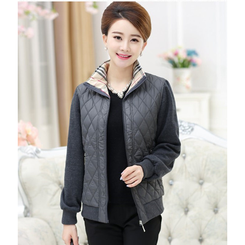 2018 NEW Spring Women Basic Jacket Polyester Female Coat Outerwear Plus Size Ladies Autumn Women
