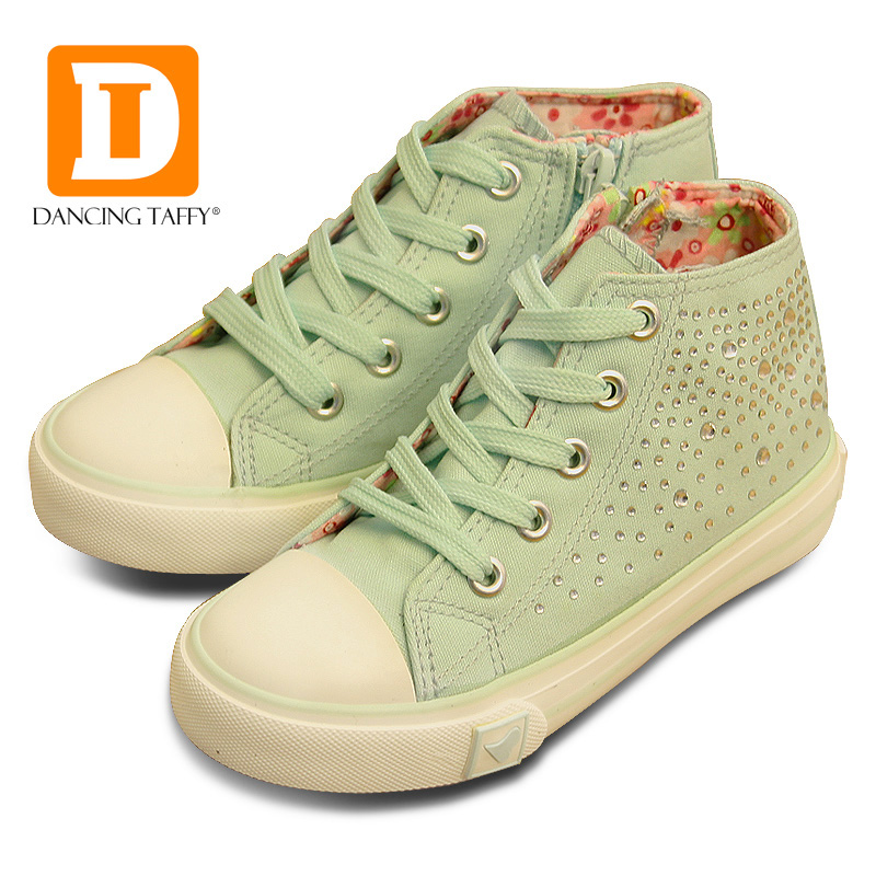 Fashion Crystal Girls Shoes Brand 2016 New Autumn Casual Children Sneakers Princess Rubber Boots Diamond Shining Kids Shoes
