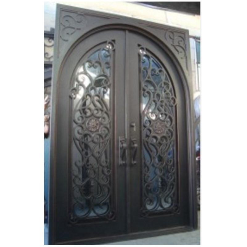 Стальные складные двери prehung стальные двери двойной стальной двери