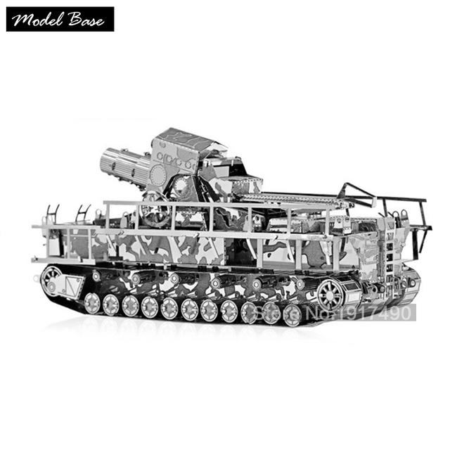 3d rompecabezas diy hobby juguetes educativos para niños juegos educativos rompecabezas 3d metal teaser militar alemán de artillería
