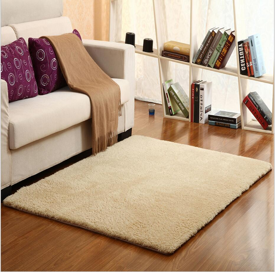 Shaggy Rugs For Living Room Online Get Cheap Ivory Shaggy Rug Aliexpresscom Alibaba Group