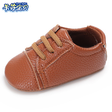 Newborn Baby Moccasins Babies Shoes Soft Bottom PU Leather Toddler Infant First Walkers 0-18 Months Crib Shoes
