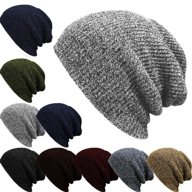 Brand Bonnet Beanies Knitted Winter Hat Caps Skullies Winter Hats For Women Men Beanie Warm Baggy Cap Wool Gorros Touca Hat 2017 2017 new women ladies cable knitted winter hats bonnet femme cotton slouch baggy cap crochet beanie gorros hat for women