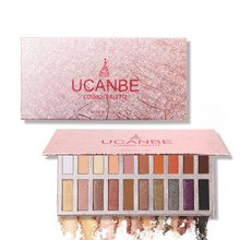 20 Colors Eyeshadow Makeup Palette Shimmer Matte Radiant Pigmented Cosmetic Eye Shadow Powder Natural Eyes makeup SW95 ucanbe brand 20 colors eyeshadow makeup palette shimmer matte radiant pigmented cosmetic eye shadow powder natural sexy eye set