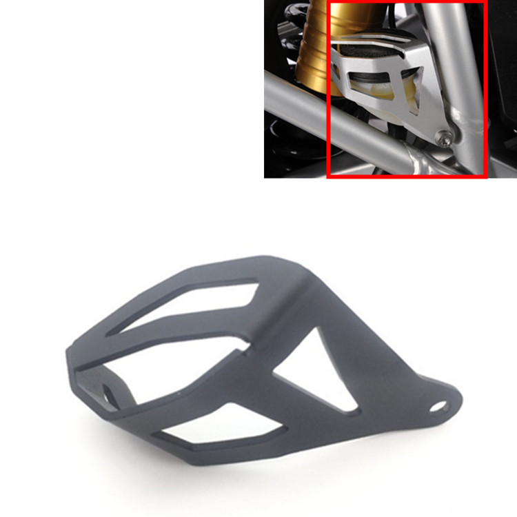 Motorcycle Rear Brake Reservoir Protector For BMW R1200 GS ADV High Quality Aluminium Rear Brake Fluid Reservoir Protector Cover blue red black golden titanium motorcycle cnc rear brake reservoir cover cap for bmw r1200gs adventure r 1200 gs adv 2005 2014