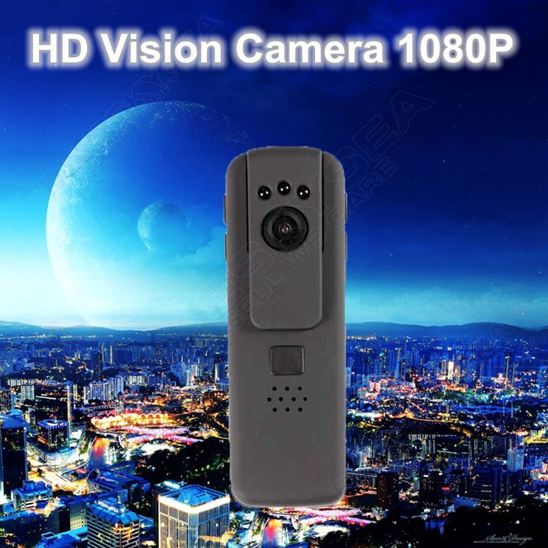 ФОТО Free shipping!Pocket IR Night Vision HD 1080P Conference Police Worn Camera DV Remote Control