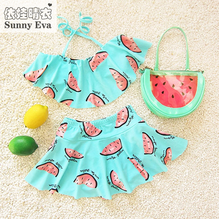 sunny eva bikini girl child summer 2017 infant swimwear kids girl bikiny bathing suit swimming mermaid tail two pieces