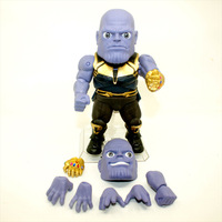Beast Kingdom Marvel Avengers Infinity War Thanos Egg Attack Action EAA 059 PVC Action Figure Collectible Model Toys Doll 21CM