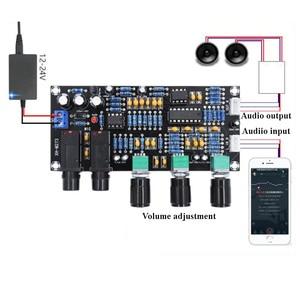 Image 2 - XH M273 PT2399 Digital Microphone Amplifiers Board Reverberation Karaoke OK Reverb NE5532 Pre amplifier Tone Board F4 011
