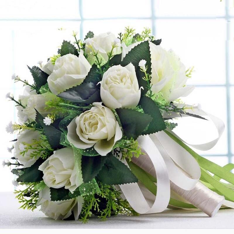 Bouquet de mariage en fleur artificielle ...