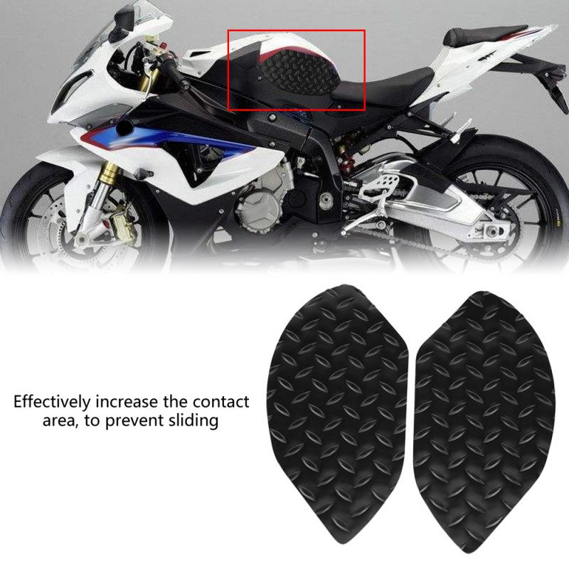 White Logo Gas Tank Protector Decal Oil Fuel Pad Sticker for BMW S1000RR S1000R