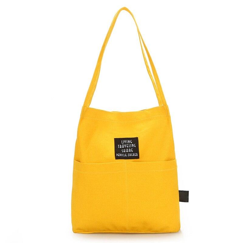 Fashion Women Tote Bag Reusable Canvas Shopping Bags Cotton Grocery Bags Folding Cat Black Print Cart Eco Grab Bag