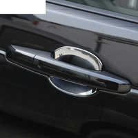 3 Colors ABS Chrome Exterior Door Cover Trim For Land Rover Discovery 5 2017 Car Accessories Set of 4 pcs