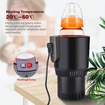Elektroauto Kühler | Smart Auto Tasse Wärmer Kühler 12 V 3A Elektrische Kaffee Wärmer Kühlung Becher Für Road Trip YAN88