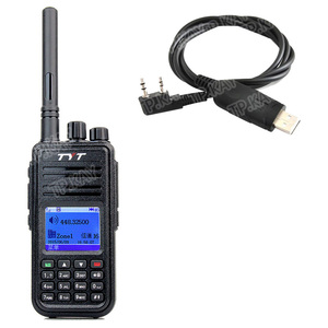 Image 2 - 最新dmrトランシーバtyt MD 380 uhfラジオ1000 ch 5ワットrfパワープログラミングケーブルとソフトウェア