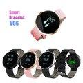 Brand new Fashion Smart Bracelets V06 Blood Pressure Heart Rate Monitor Sport Activity Watch Clock Life Waterproof Pk v8 gt08