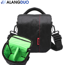 ALANGDUO New DSLR Micro Camera Bag Backpack Video Photo Bags for Camera d3200 d3100 d5200 d7100 Small Compact Camera Backpack