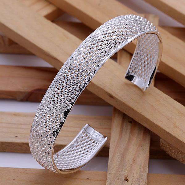 Jewelry & Accessories Bracelets & Bangles 925 Silver Fashion Jewelry Small Web Bangle /agsaixza Ajuajbba B102 925 Free Shipping Sterling Silver Bangle Bracelet