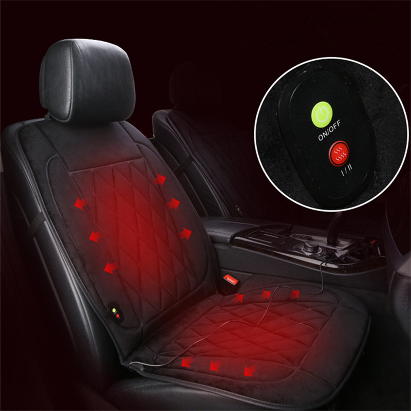 Image 4 - 1 pieces 12V Heated Car Seat Cushion  Innovative Technology New Winter Car Heating Cushion Even More Comfortable Heating-in Automobiles Seat Covers from Automobiles & Motorcycles