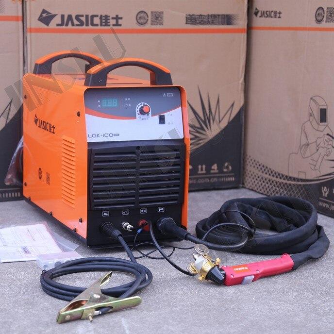 380 V 100A Jasic LGK-100 CUT-100 Plasma Ad Aria Macchina di Taglio Cutter con P80 Torcia Manuale Inglese incluso JINSLU