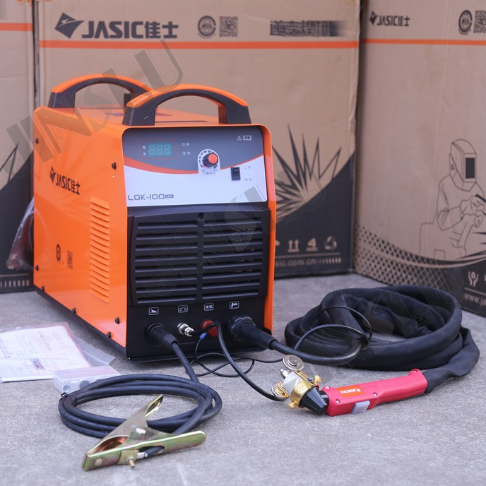 380V 100A Jasic LGK 100 CUT 100 Air Plasma Cutting Machine Cutter with P80 Torch English Manual included JINSLU