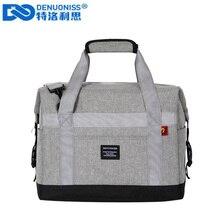 Denuoniss 30L大容量ビールクーラーバッグ防水オックスフォードピクニック絶縁バッグ熱ボルサ冷蔵庫バッグ