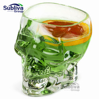Skull Glass 700 ml bia stein rượu shot glass Head Whiskey Uống