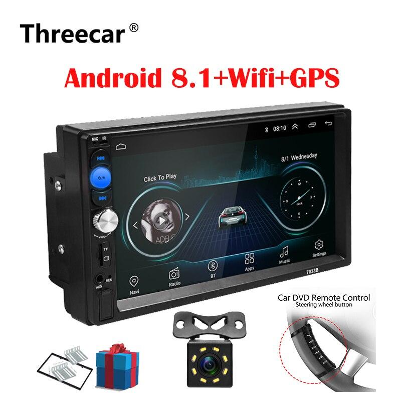2 Din Auto Radio Android 8.0 Universal Gps Navigation Bluetooth Touchscreen Wifi Auto Audio Stereo Fm Usb Auto Multimedia Mp5 Noch Nicht VulgäR