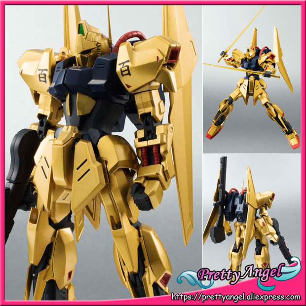 Japan Anime Original Bandai Tamashii Nations Robot Spirits No.182 Mobile Suit Zeta Gundam Action Figure - Hyaku Shiki original bandai tamashii nations robot spirits exclusive action figure rick dom char s custom model ver a n i m e gundam