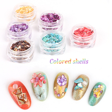 Buy nail art stones and get free shipping on aliexpress beautiful texture natural sea shell 3d charm nail art decoration slice diy beauty salon nail decals prinsesfo Image collections