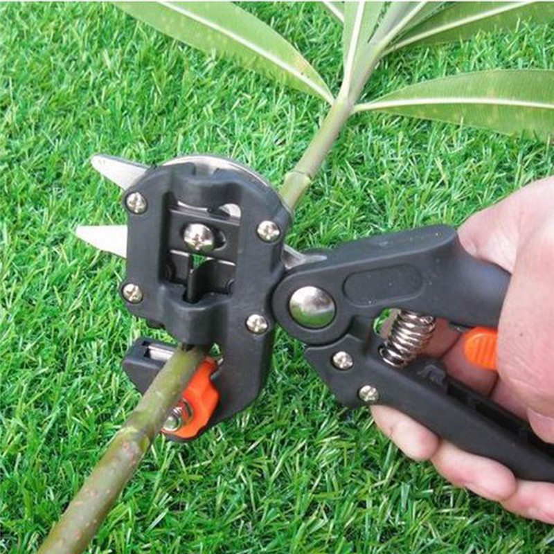 Garden Fruit Tree Pruning Shears Scissor Grafting Cutting Tool with 2 Blades Secateurs Scissors grafting tool Cutting Pruner Z4