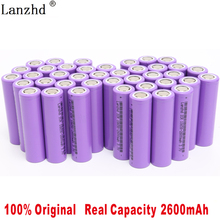 40pcs/lot 2019 NEW 100% Original 3.7V 2600mAh For Samsung 26F Rechargeable 18650 Li-ion Battery Real Capacity ICR18650 Batteries