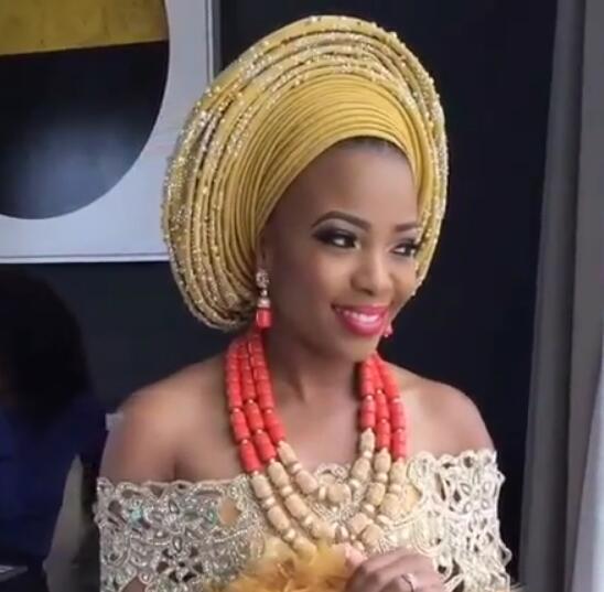 Ensemble de bijoux de perles de mariage nigérian de luxe traditionnel mariage africain déclaration de mariée collier ensemble Dubai livraison gratuite CNR819