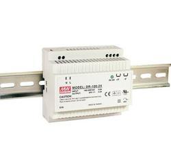 Meanwell zasilanie DR-100 12  15  24 100 W przemysłowy zasilacz na szynę DIN z pojedynczym wyjściem