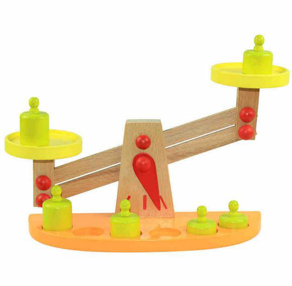 Balance Board For 2 Year Old: Montessori Teaching Toy Balance Scale Wood Wooden Toys
