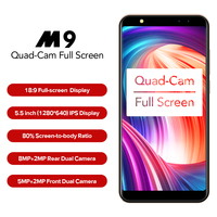 LEAGOO M9 Smartphone 5 5 18 9 Full Screen Four Cams 2GB 16GB Android 7 0